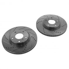 03-05 Infiniti G35; 03-05 Nissan 350Z Front Performance Disc Brake Rotor Pair