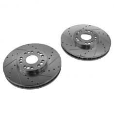02-10 Lexus SC430; 01-05 IS300; GS, LS Front Performance Disc Brake Rotor Pair