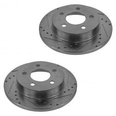 94-02 Ford Mustand Base & GT Rear Performance Disc Brake Rotor Pair