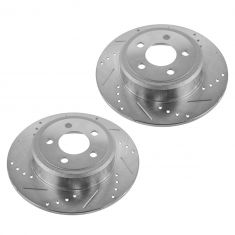 05-13 300; 09-13 Challenger; 06-13 Charger; Rear Performance Disc Brake Rotor Pair