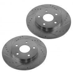 08-13 Town & Country; 09-13 Journey; 09-12 Routan Performance Disc Brake Rotor Pair