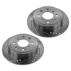 90-01 Integra; 92-00 Civic; 88-91 Prelude Rear Performance Disc Brake Rotor Pair