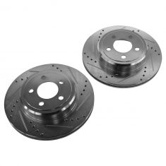 05-13 300; 09-13 Challenger; 06-13 Charger Rear Performance Disc Brake Rotor Pair