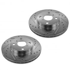 93-02 Corolla, Prizm Front Performance Disc Brake Rotor Pair