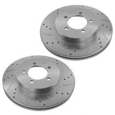 2002-05 Explorer Mountaineer Front Performance Disc Rotor Pair (Except Sport)