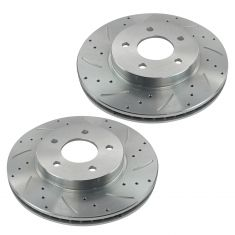 05-06 Equinox; 06 Torrent; 02-07 Vue Front Performance Disc Brake Rotor Pair