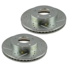 02-07 Liberty Front Performance Disc Brake Rotor Pair