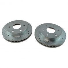 1988-00 Chevy GMC Truck Front Performance Disc Brake Rotor Pair