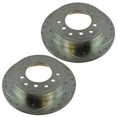 03-09 GX470 4Runner 07-09 FJ 01-07 Sequoia Rear Performance Brake Rotor Pair