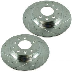 06-12 Fusion, MKZ, Mazda 6, Miata, Millan Rear Performance Brake Rotor Pair