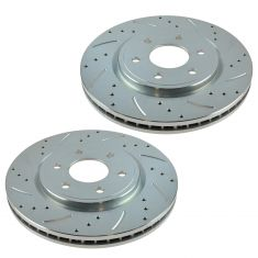 05-11 Nissan Frontier Pathfinder Xterra Front Performance Brake Rotor Pair