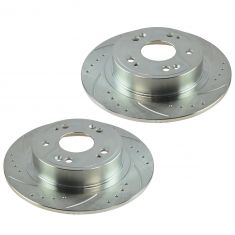 08-12 Accord; 05-07 Accord Hybrid; 09-12 TSX Rear Performance Brake Rotor Pair