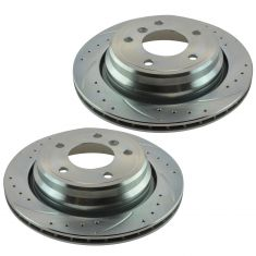 01-03 525i, 530i; 97-00 528i; 97-03 540i Rear Performance Brake Rotor Pair