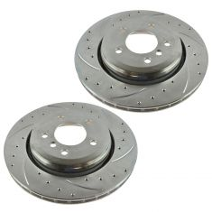 01-06 BMW 330Ci; 02-05 330i; 01-05 330Xi Rear Performance Brake Rotor Pair