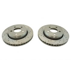 08-12 Liberty; 07-11 Nitro w/12 In Rotor) Front Performance Brake Rotor Pair