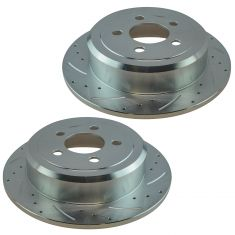 07-11 Dodge Nitro; 08-12 Jeep Liberty Rear Performance Brake Rotor Pair
