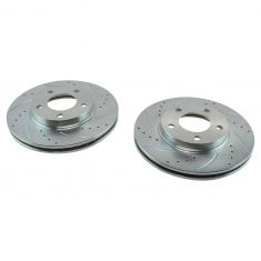 2001-06 Escape Mariner Tribute Performance Brake Rotor Front Pair