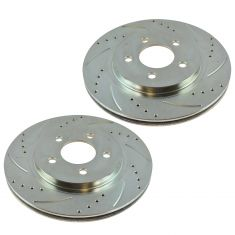 05-12 Mustang 13-14 Mustang (w/11.8 Inch Dia) Rear Performance Brake Rotor Pair