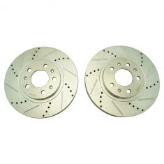03-07 Cadillac CTS (w/RPO FE1) Front Performance  Brake Rotor Pair