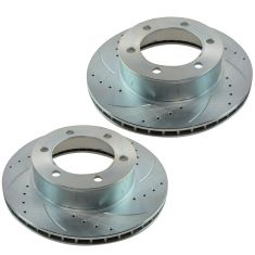 1995-04 Toyota Tacoma 4Runner Front Brake Performance Rotor Pair for trucks With