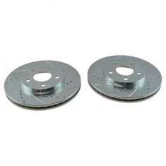 2000-05 Dodge Plymouth Neon Front Performance Brake Rotor Pair