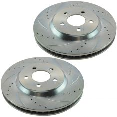05-10 Ford Mustang w/4.6L; 11-14 Mustang w/3.7L Front Performance Brake Rotor Pa
