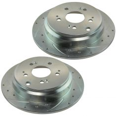 05-10 Honda Odyssey Rear Performance Brake Rotor Pair