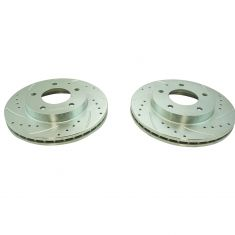 93-97 Probe; 93-02 626; Front Performance Brake Rotor Pair