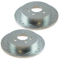 98-03 ML320; 03-05 ML350 Rear Performance Brake Rotor Pair