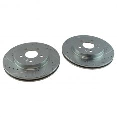 98-03 ML320; 03-05 ML350 Front Performance Brake Rotor Pair