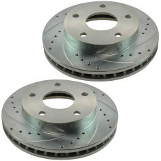 94-99 Dodge Ram 1500 w/4WD & RWAL Front Performance Brake Rotor Pair