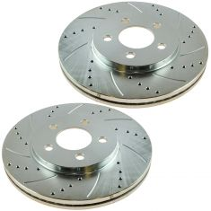 03-11 Crown Vic, Town Car Front Performance Brake Rotor Pair