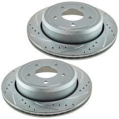 03-11 Crown Vic, Grand Marquis Rear Performance Brake Rotor Pair