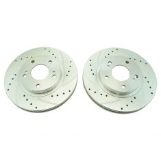 99-01 Maxima, I30 Front Performance Brake Rotor Pair