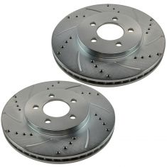 06-07 Chevy HHR; 08-11 HHR (w/Rear Drum) Front Performance Brake Rotor Pair