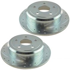 07-12 Jeep Wrangler Rear Disc Performance Brake Rotor Pair