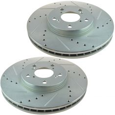 09-12 Acura TL; 11-12 Honda Odyssey Front Disc Performance Brake Rotor Pair