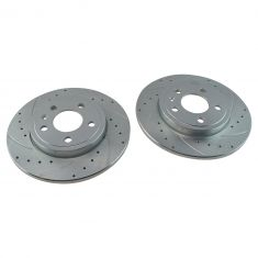 05-09 Audi A4, A4 Quattro 11.33in 288mm Rear Performance Brake Rotor Pair