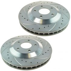 1997-04 Chevy Corvette Front Performance Brake Rotor Pair