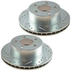90-99 Cherokee; 90-97 Wrangler Front Performance Brake Rotor Pair