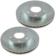95-05 Seabring; 90-01 Eclipse Front Performance Brake Rotor Pair