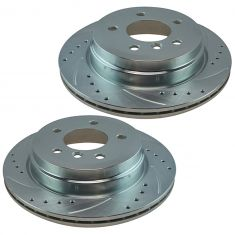 06 BMW 325xi; 07-11 328 Rear Performance Brake Rotor Pair