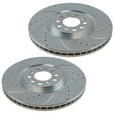 00-06 TT; 00-03 Golf; 04-05 Jetta Front Performance Brake Rotor Pair