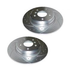 95-01 740; 94-97 840; 91-97 850 Rear Performance Brake Rotor Pair