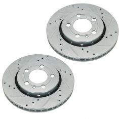 00-05 Jetta, Golf; 00-06 TT Q Rear Performance Brake Rotor Pair