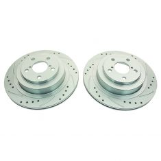 06-07 Impreza; 05-11 Legacy Rear Performance Brake Rotor Pair