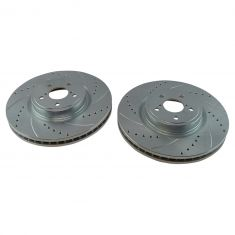 14-15 Forester; 05-14 Legacy; 10-14 Outback Front Performance Brake Rotor Pair