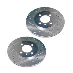 84-91 BMW 3 Series Front Perfomance Brake Rotor Pair