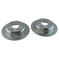 94-98 Jeep Grand Cherokee Rear Perfomance Brake Rotor Pair