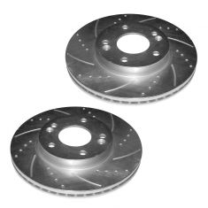 84-93 BMW 3 Series Rear Perfomance Brake Rotor Pair